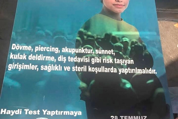 HEPATİT GÜNÜ POSTERLERİ HAZIR
