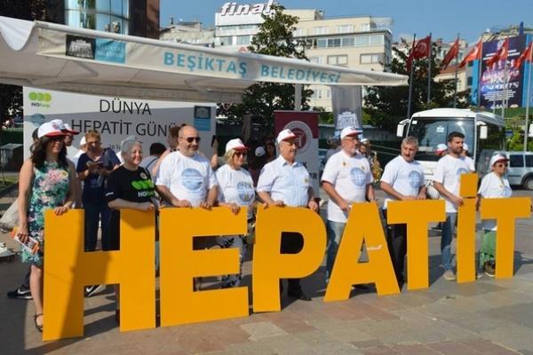Dünya Hepatit Günü'nde Beşiktaş'ta halkımızla buluştuk